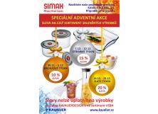 Adventní akce na podnikových prodejnách