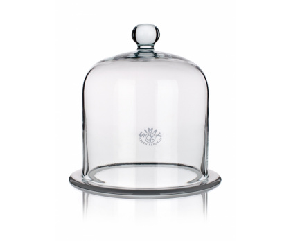 BELL JARS WITH GROUND FLANGE AND KNOB