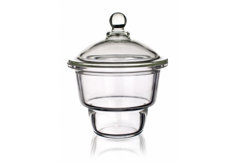DESICCATOR WITH GLASS KNOB