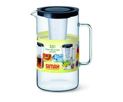 Simax Kavalier džbán s vložkou na led a sítkem