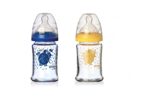 Simax Kavalier souprava  kojeneckých lahví, 150 ml