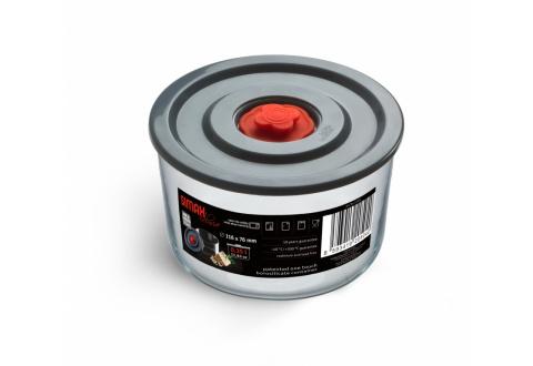 Simax Kavalier 1l zásobník Pump & Pump s plastovým víkem a patentovaným uzávěrem