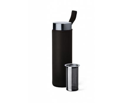"""SIMAX Nápojová lahev """"Pure Aqua Bottle""""-0,5l s neoprenem a sítkem"""