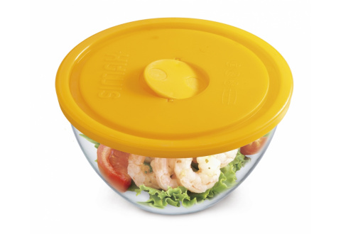BOWL WITH LID FOR MICROWAVE