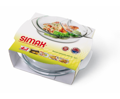ROUND CASSEROLE WITH LID