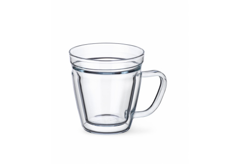 GLASS LUNGO WITH HANDLE