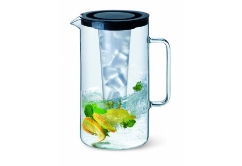 PITCHER WITH ICE-INSERT