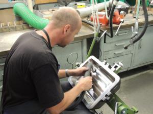 Výroba sklářských forem a dílů