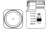 LÁHEV REAGENČNÍ  SGL80 sPP modrým uzávěrem  aPP vylévacím kroužkem
