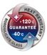 Garance použití při teplotě od -40 do +120